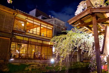 Les Illuminations de Gion Shirakawa