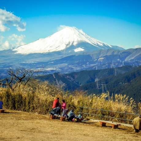 Hiking Mt Ono with Views of Mt Fuji