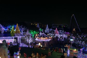 Jewellumination à Yomiuri Land